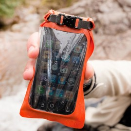 Aquapac  Водонепроницаемый чехол Aquapac 035 - Small Stormproof Phone Case Orange