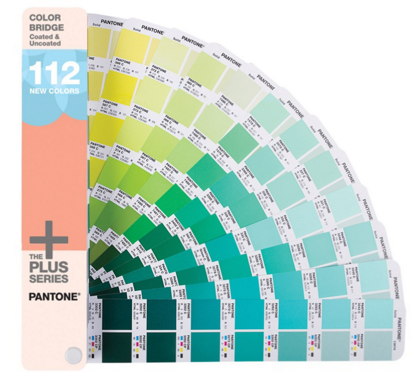 Pantone  COLOR BRIDGE®  Coated & Uncoated Supplement