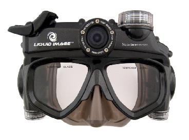 Liquid Image  Маска с камерой LIC318 (LIC319) Видеокамера Wide Angle Scuba Series 12.0MP HD720P