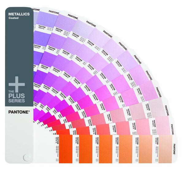 Pantone  Metallic Guide Coated GG1307