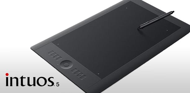 Wacom  Планшет Intuos5 Touch L