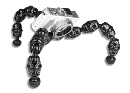FotoPro  Гибкий штатив для фото, видео и экшен-камер  RM-110S