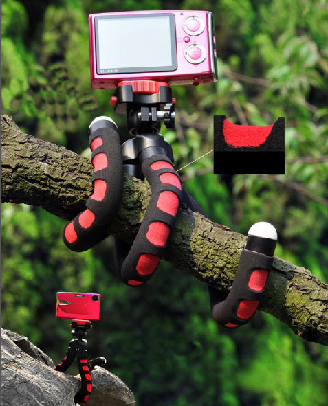 FotoPro  Гибкий штатив для фото, видео и экшен-камер RM-100