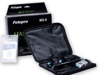 FotoPro  Набор креплений для фиксации фото, видео и экшен-камер на различных поверхностях MS-6