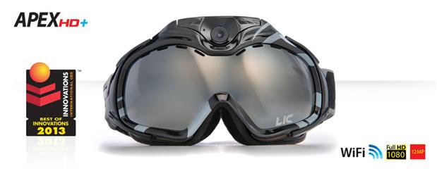 Liquid Image    Маска с камерой LIC339 Snow Goggle Apex Series WiFi