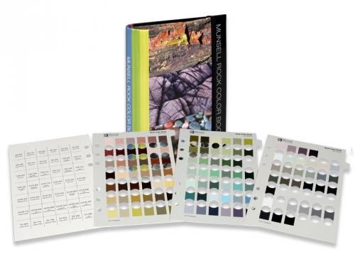 Munsell  Munsell Rock Color Chart (Для оценки цвета горных пород)