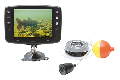 AquaSpy  Портативная подводная видеокамера AquaSpy 25 для рыбалки с кабелем 25 м