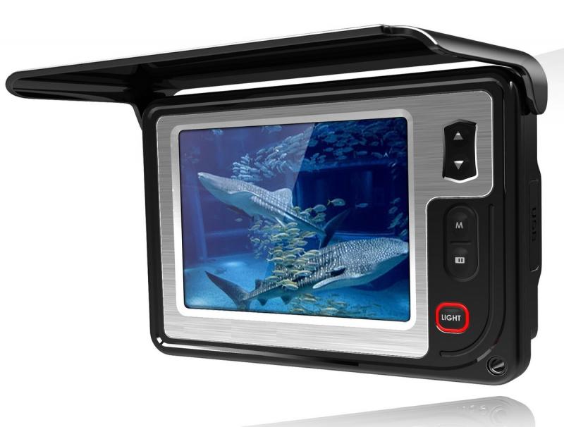 AquaSpy  Портативная подводная видеокамера AquaSpy 15 Plus DVR