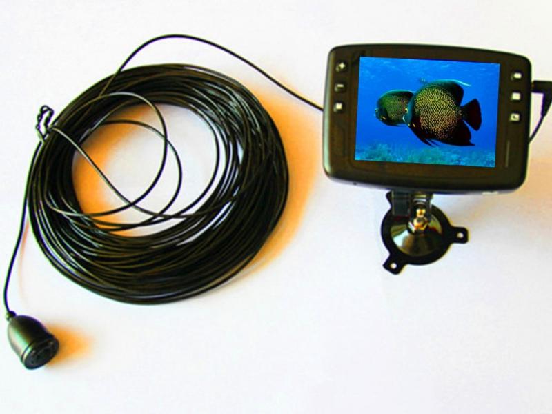 AquaSpy  Портативная видеокамера для рыбалки AquaSpy 50 (кабель 50 м)