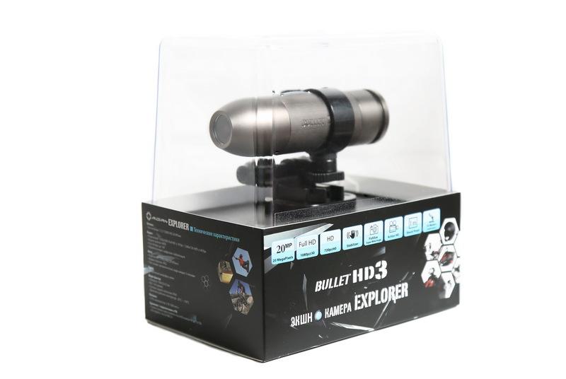 Bullet  Экшн камера Bullet HD 3 Explorer