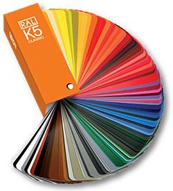 RAL  каталог цветов RAL-K5 матовый