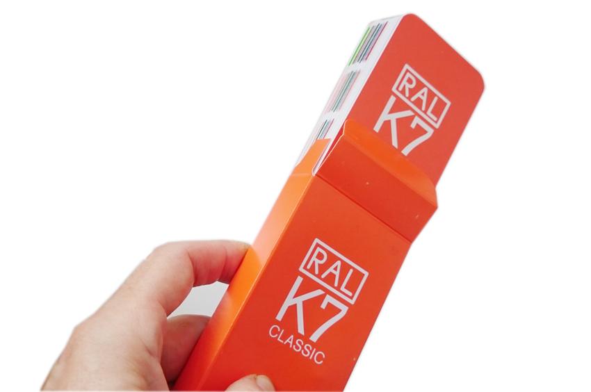 RAL  каталог цветов RAL Classic K7