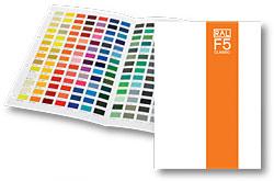 RAL  каталог цветов RAL-F5