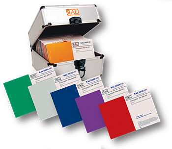 RAL  каталог цветов RAL 840-HR