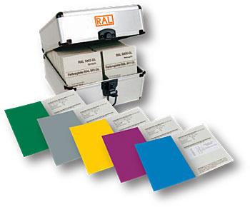 RAL  каталог цветов RAL 841-GL