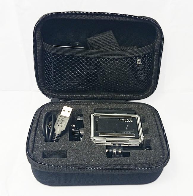 GP  GP-BGS Полужёсткий кейс для экшн камер (малый)