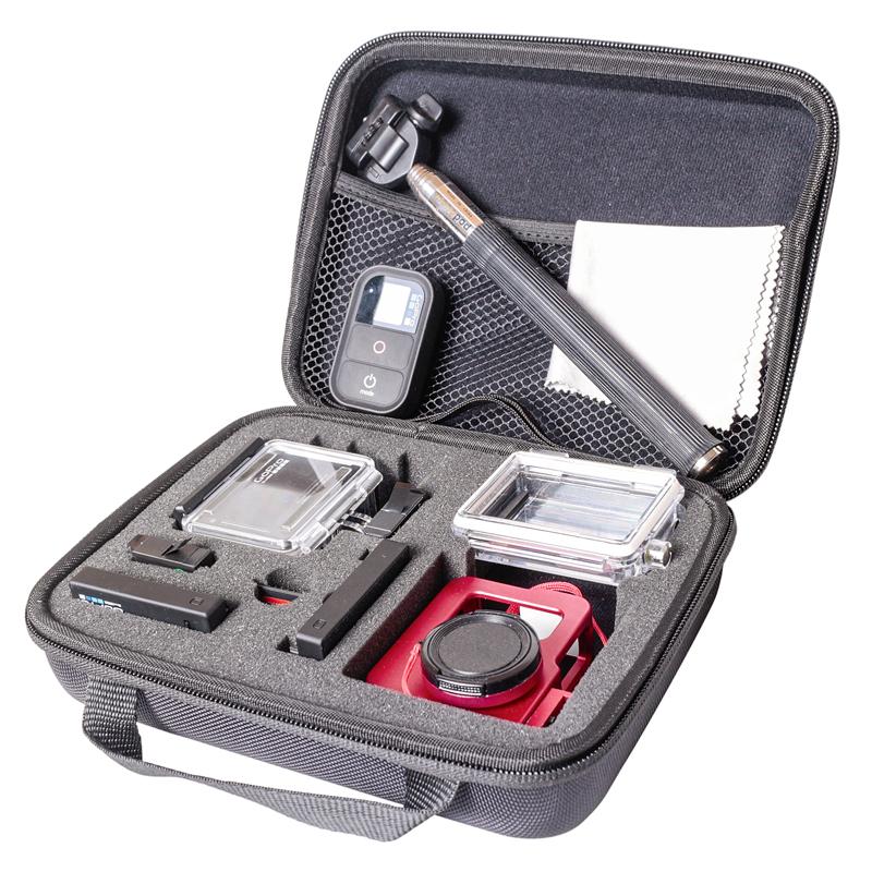 GP  GP-BGM Полужёсткий кейс для экшн камер  (средний)