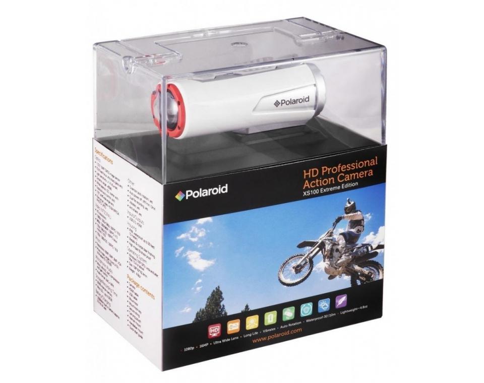 Polaroid  экшн камера  XS100i