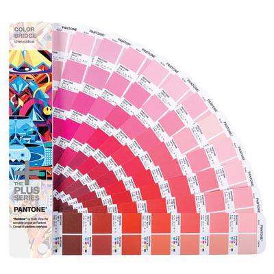 Pantone  Веер Color Bridge Uncoated (перевод Pantone в CMYK, немелованная бумага)