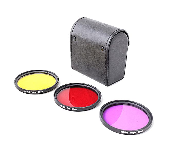 Fujimi  Набор фильтров для GoPro красный, жёлтый, пурпурный с чехлом
