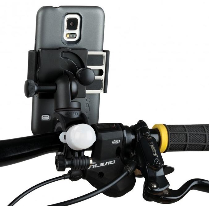 JOBY   крепление на руль велосипеда GripTight Bike Mount PRO для iPhone, Galaxy, смартфонов и других электронных устройств