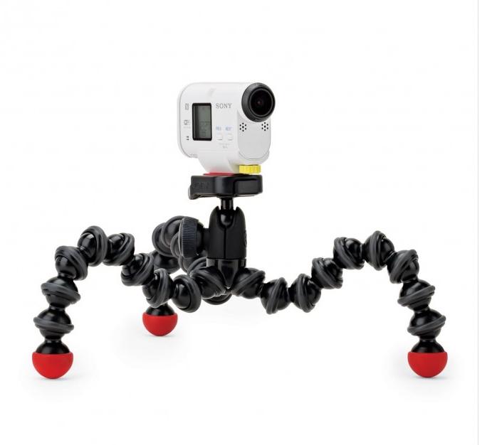 JOBY  Гибкий шарнирный штатив GorillaPod для фото и экшен-камер