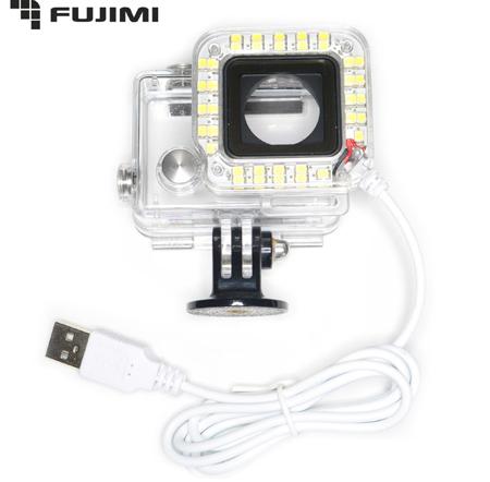 Fujimi  GP LED37USB Диодный свет для камер GoPro (2.8 Вт)
