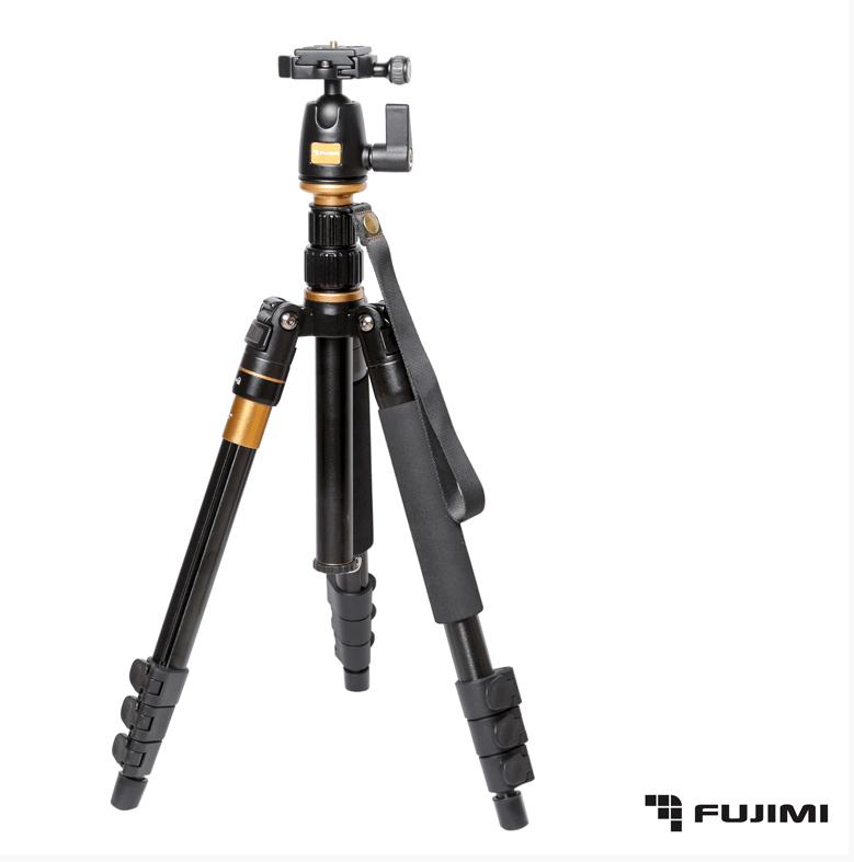 Fujimi  FT55A Компактный штатив-трансформер  3 в 1 (1410 мм.)