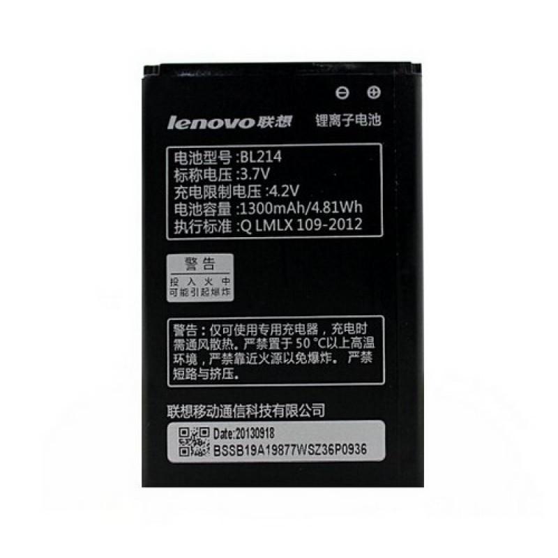 Partner  Аккумулятор для Lenovo A66, A208t, A218t, A228t, A238t, A269, A278t, A300t, A305E, A308/A308T, A316/A316i, A318/A318t, A365e, A369i, A396 - BL214 1300mAh