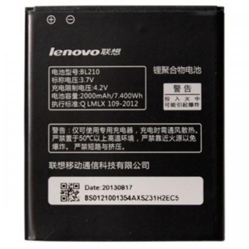 Partner  Аккумулятор для Lenovo S820 , S820Z , S650 , S658T, A656 , A606 , A536 , A706,  A750E, A750Z ,  A760, A766 - BL210 2000mAh