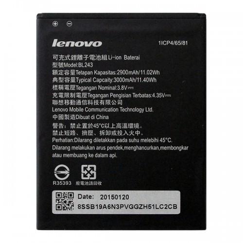 Partner  Аккумулятор для Lenovo (K3 Note, A7000) - BL243 3000mAh