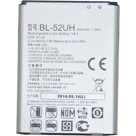 Partner  Аккумулятор для LG L65 D280, L65 D285, L70 D320, L70 D325, L70 D329, LS620 Realm - LG BL-52UH 2100mah