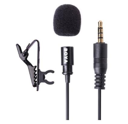 Boya  BY-LM10 Петличный микрофон для iPhone/iPad