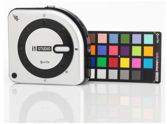 X-Rite  i1Studio комплект для калибровки монитора, камеры, принтера