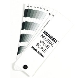 Munsell  Neutral Value Scale - Matte Finish (Серая шкала Манселла, матовая версия)