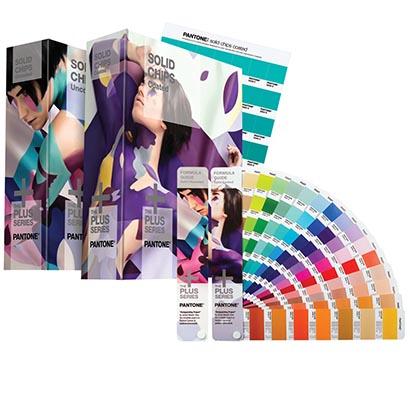 Pantone  Набор цветовых справочников (веера + книги с отрывными образцами) Solid Color Set (Formula Guide + Solid Chips)  GP1608N