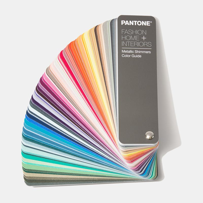 Pantone  Цветовой справочник FHI Metallic Shimmers Color Guide  FHIP310N