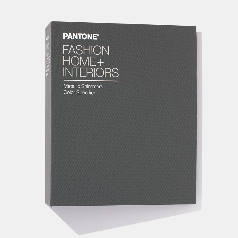 Pantone  Цветовой справочник (книга с отрывными образцами) FHI Metallic Shimmers Color Specifier  FHIP410N