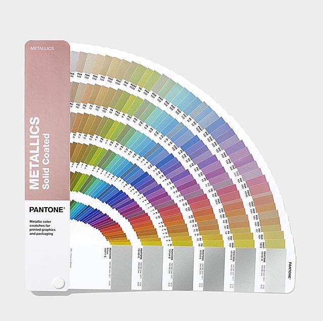 Pantone  Цветовой справочник  Metallics Coated 2019 GG1507A
