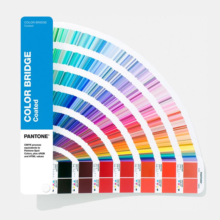 Pantone  Цветовой справочник (веер) Color Bridge Coated (перевод Pantone в CMYK, глянцевая бумага) GG6103A