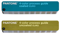 Pantone  4-color process guide set EURO GPE203