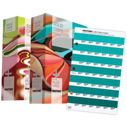 Pantone  Solid Chips - Solid Coated&Solid Uncoated (2-Books Set) GP1606N